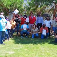 216 familias beneficiadas en proyecto Alto Los Aromos reciben sus subsidios de vivienda