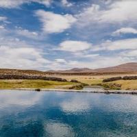 Termas de Enquelga se preparan para la reactivación del turismo