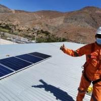 Con éxito finalizó proyecto paneles solares en el poblado de Sibaya financiado por fondo de protección ambiental