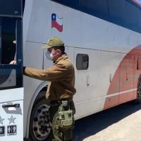 Carabineros detecta vehículo transportando extranjeros con ingreso ilegal al país, todos quedaron apercibidos