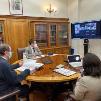 Comisión Mixta revisa proyecto que permitirá tobilleras electrónicas en formalizados por violencia intrafamiliar
