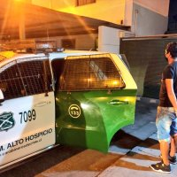 Detenidos por receptación de vehículo motorizado