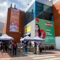 Mall ZOFRI reinició su actividad