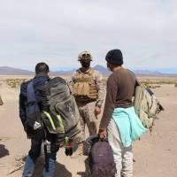 Gobernador del Tamarugal realizó recorrido por la frontera junto a ejército en Colchane