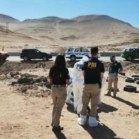 PDI Tarapacá investiga hallazgo de cadáver N.N. quien habría fallecido electrocutado