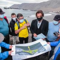 Comienzan gestiones para hermoseamiento de playa El Colorado