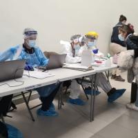 Fortalecen estrategia de Búsqueda Activa en aeropuerto de Iquique