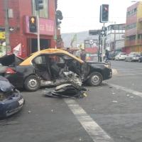 Condenan a 5 años y un día a conductor que chocó taxi causando graves lesiones a pasajeros