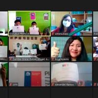 Estudiantes de Camiña refuerzan expresión oral en inglés con taller Mineduc