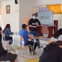 180 estudiantes de liceos técnicos de Tarapacá se capacitan en Electricidad, Soldadura y Grúa Horquilla