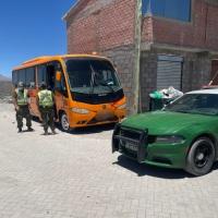 Carabineros cursa 376 infracciones a conductores de transporte ilegal