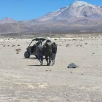 Policía fronteriza de carabineros detiene dos personas por tráfico de drogas